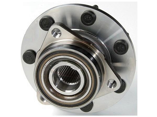 MOOG-515022 Front Wheel Bearing and Hub Assembly - 2 Wheel ABS - 7 Stud Hub