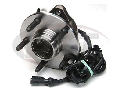 Front Wheel Bearing and Hub Assembly - With 4 Wheel Anti Lock Brakes