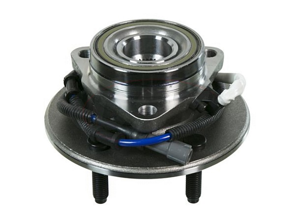 Front Wheel Bearing and Hub Assembly - 4 Wheel ABS - 5 Stud Hub - M14 Wheel Bolts