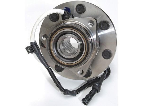 MOOG-515030 Front Wheel Bearing and Hub Assembly - 4 Wheel ABS - 7 Stud Hub