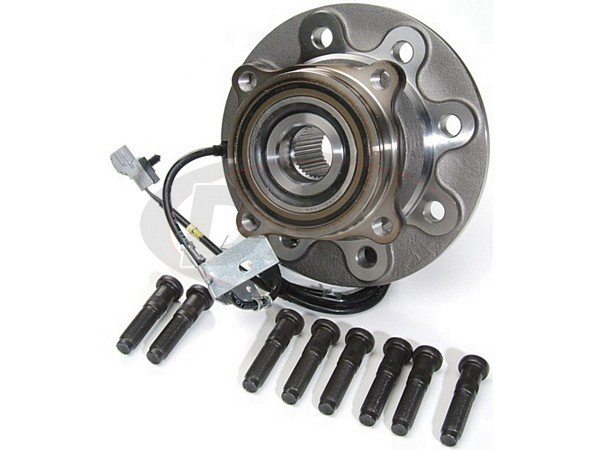 moog-515035 Front Right Wheel Bearing and Hub Assembly - 4 Wheel ABS - Passenger Side