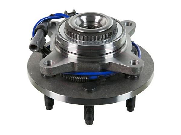 Front Wheel Bearing and Hub Assembly - 6 Stud Hub