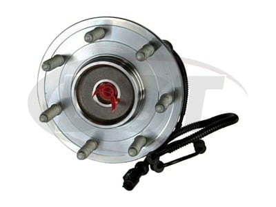 Front Wheel Bearing and Hub Assembly - 7 Stud Hub