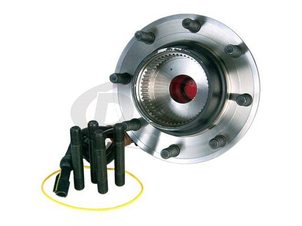 MOOG-515057 Front Wheel Bearing and Hub Assembly - 4 Wheel ABS - Dual Rear Wheel - 13mm Thick Flange