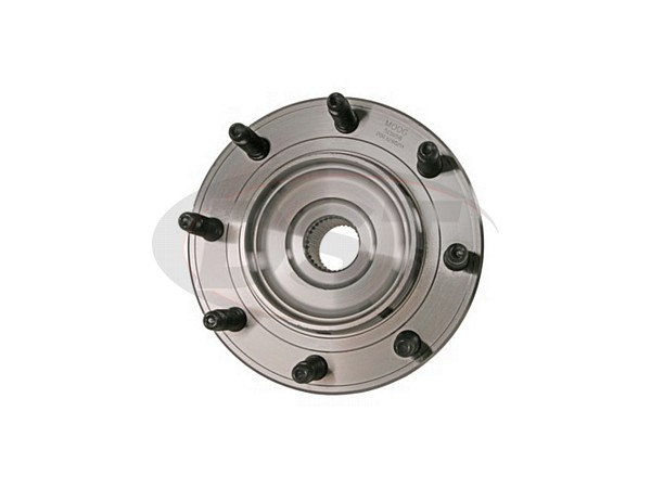 2003-2007 Hummer H2 Front Wheel Bearing Hub Assembly fit for 1999-2006 Chevy Silverado Avalanche Suburban GMC Sierra Yukon 1500HD 2500 2500HD 4WD ONLY FKG 515058