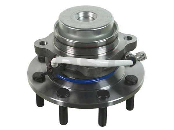 Front Wheel Bearing and Hub Assembly - 10000lb GVW and Higher - 180mm ABS Sensor