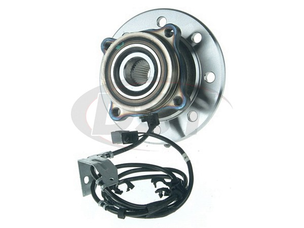 moog-515069 Front Right Wheel Bearing and Hub Assembly - 4 Wheel ABS - Passenger Side