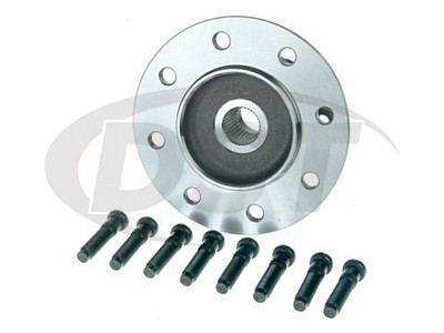 Front Right Wheel Bearing and Hub Assembly - 4 Wheel ABS - Passenger Side