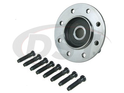 Front Wheel Bearing and Hub Assembly - 4 Wheel Drive