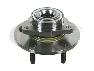 Front Wheel Bearing and Hub Assembly - 2 Wheel ABS - 5 Stud Hub