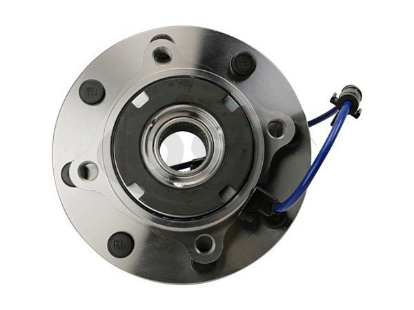 MOOG-515075 Front Wheel Bearing and Hub Assembly - 4 Wheel ABS - Single Rear Wheel - 10mm Thick Flange