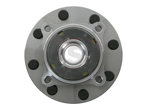 MOOG-515076 Front Wheel Bearing and Hub Assembly - 2 Wheel ABS - Single Rear Wheel - 10mm Thick Flange