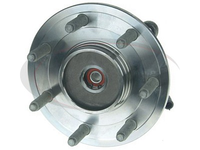 Moog Front Wheel Bearing and Hub Assemblies for F-150