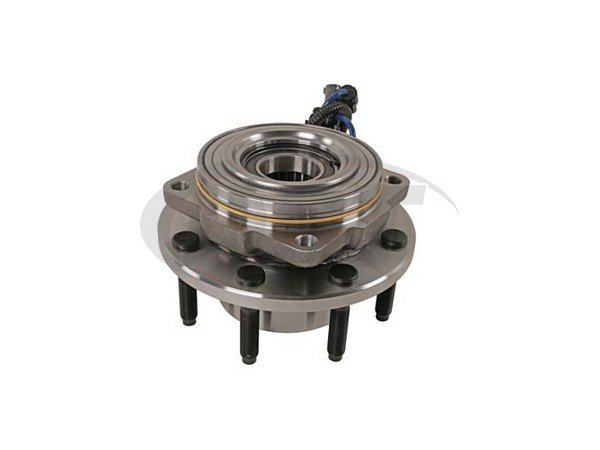Front Wheel Bearing and Hub Assembly - Single Rear Wheel