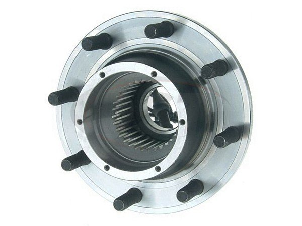 Front Wheel Bearing and Hub Assembly - Dual Rear Wheel