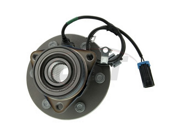 moog-515091 Front Wheel Bearing and Hub Assembly - Driver Side