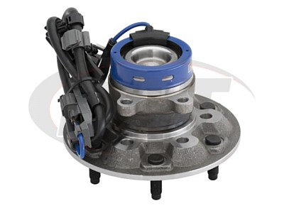 Front Wheel Bearing and Hub Assembly - Passenger Side - ZQ8 Sport Chassis