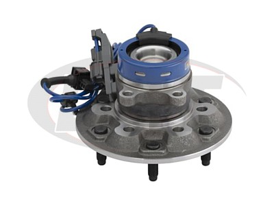 Front Wheel Bearing and Hub Assembly - Driver Side - Z71 Off Road Chassis