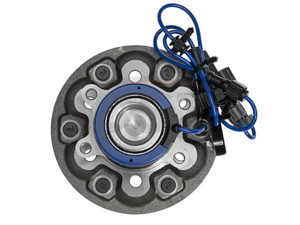 moog-515109 Front Wheel Bearing and Hub Assembly - Passenger Side - Z71 Off Road Chassis