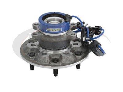 Front Wheel Bearing and Hub Assembly - Passenger Side - Z71 Off Road Chassis