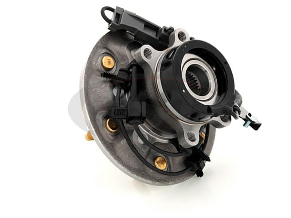 Front Wheel Bearing and Hub Assembly - Driver Side - 4 Wheel Drive