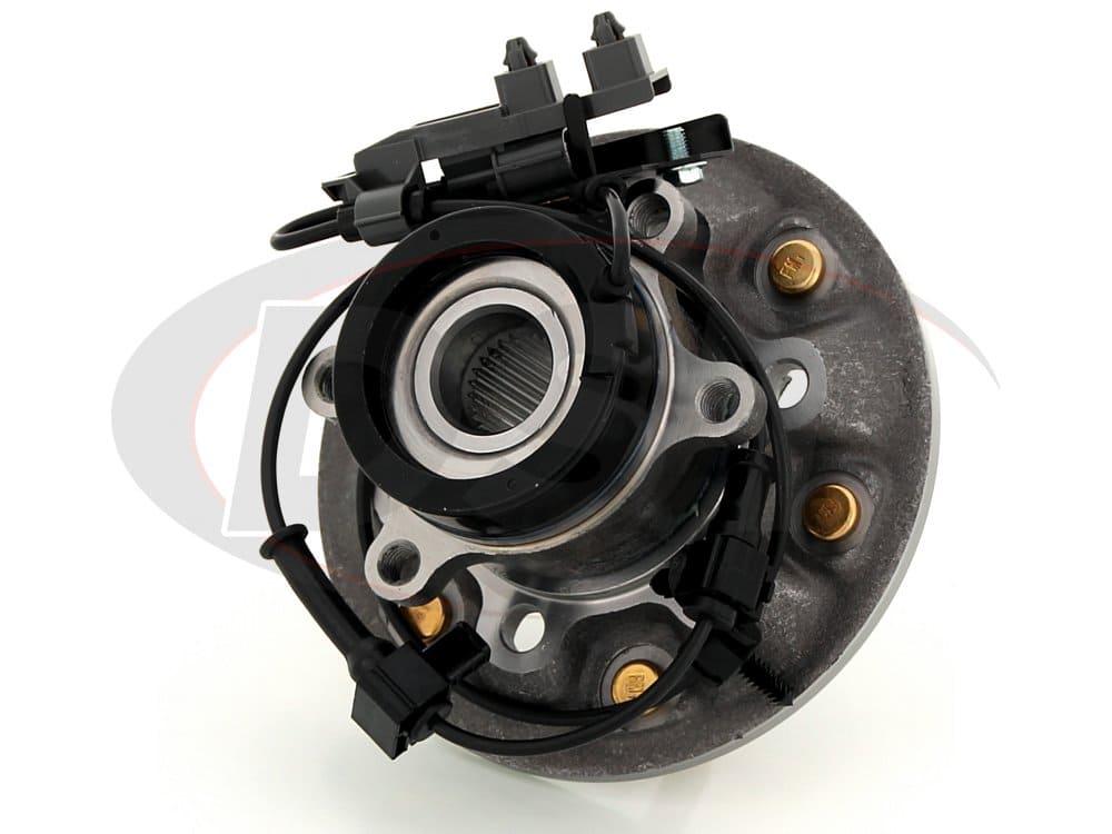 moog-515111 Front Wheel Bearing and Hub Assembly - Passenger Side - 4 Wheel Drive