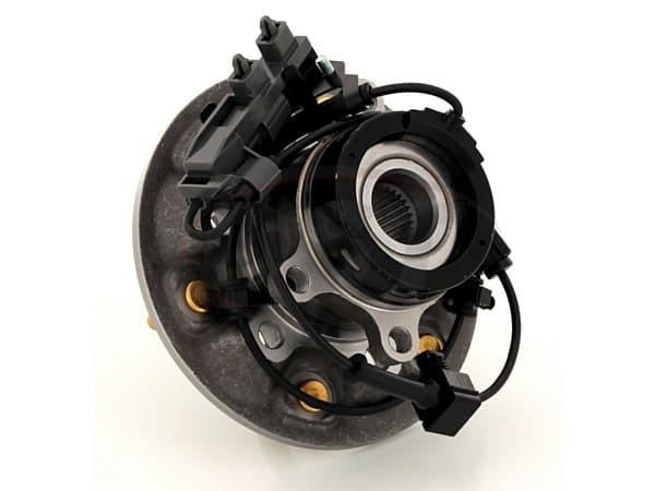 Front Wheel Bearing and Hub Assembly - Passenger Side - 4 Wheel Drive