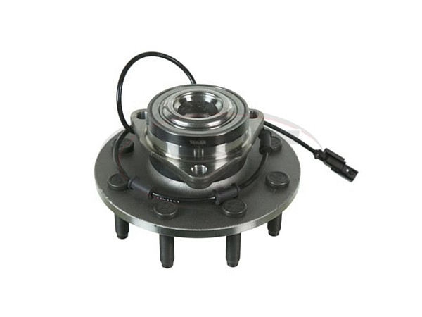 Front Wheel Bearing and Hub Assembly - 2 Wheel Drive