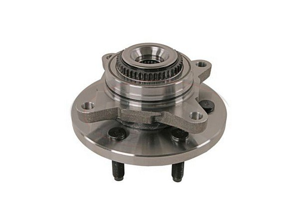 Front Wheel Bearing and Hub Assembly - 6 Stud Hub - 4 Wheel Drive