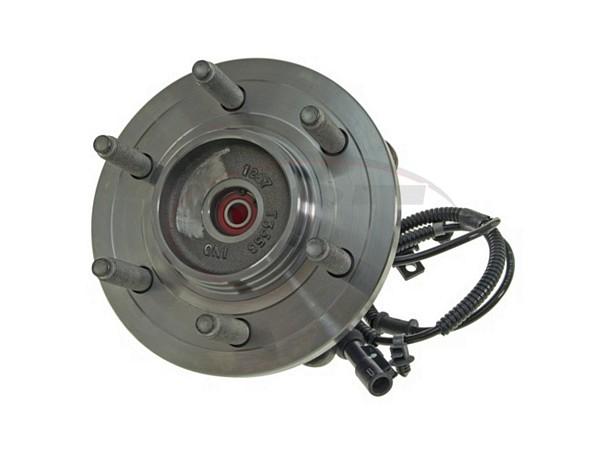MOOG-515119 Front Wheel Bearing and Hub Assembly - 6 Stud Hub - 4 Wheel Drive