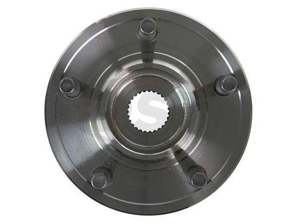 moog-515129 Front Wheel Bearing and Hub Assembly - 4WD