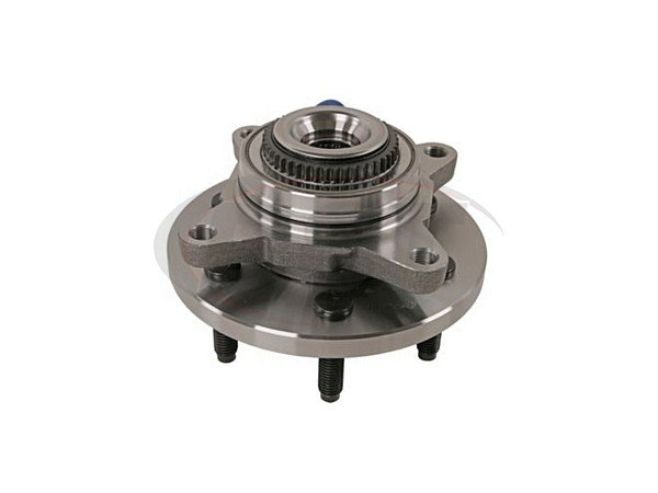 Front Wheel Bearing and Hub Assembly - 4WD