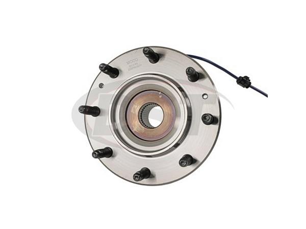 moog-515145 Front Wheel Bearing and Hub Assembly - Single Rear Wheel