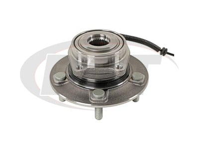 Moog Front Wheel Bearing and Hub Assemblies for Town & Country, Grand Caravan