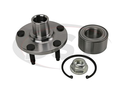 Moog Front Wheel Bearing and Hub Assemblies for Edge, MKX