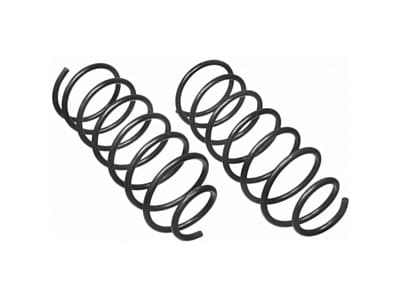 Moog Rear Coil Springs and Struts for Calais, DeVille, Fleetwood