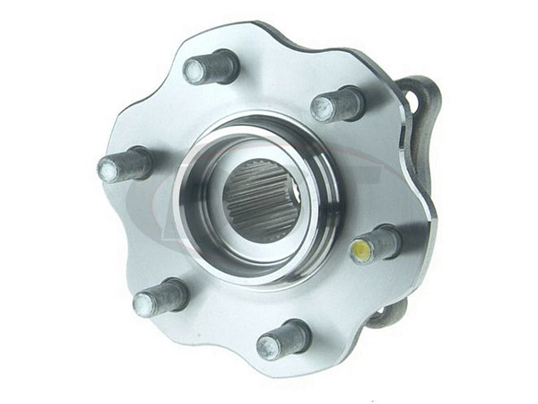 moog-541003 Rear Wheel Bearing and Hub Assembly