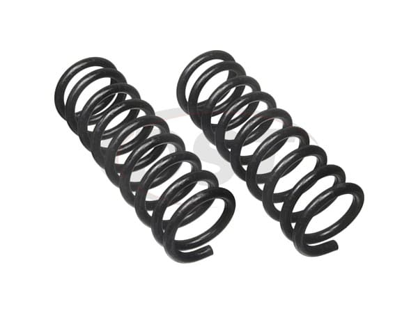 moog-6033 Rear Coil Springs - Pair