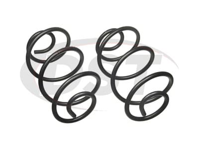 Moog Rear Coil Springs and Struts for C20 Panel, C20 Pickup, C20 Suburban, C25/C2500 Pickup, C25/C2500 Suburban