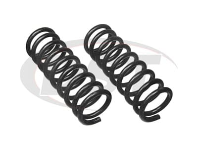 Moog Front Coil Springs and Struts for Bel Air, Biscayne, Caprice, Impala