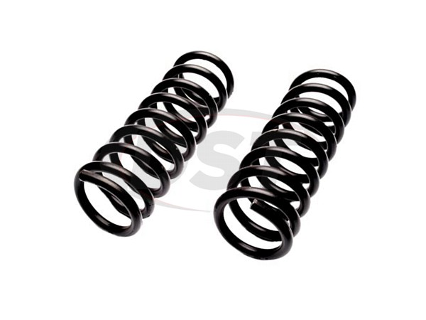 MOOG-6490 Front Coil Springs - Pair