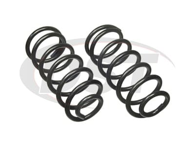 Moog Rear Coil Springs and Struts for Charger, Omni, Horizon, TC3, Turismo, Turismo 2.2