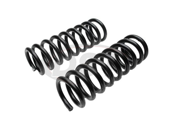 MOOG-8000 Front Coil Springs - Pair
