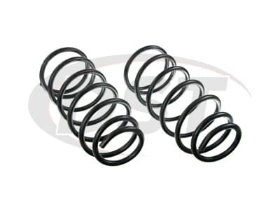 Moog Front Coil Springs and Struts for Windstar