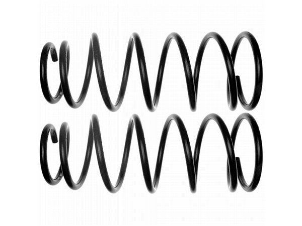 Moog-81022 Front Coil Springs - Pair