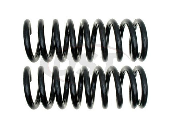 Moog-81037 Rear Coil Springs - Pair