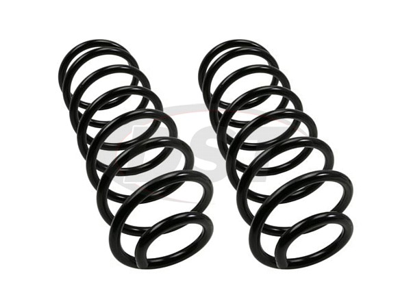 Moog-81041 Rear Coil Springs - Pair