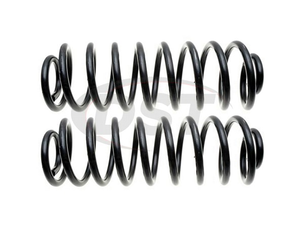 Moog-81047 Rear Coil Springs - Pair