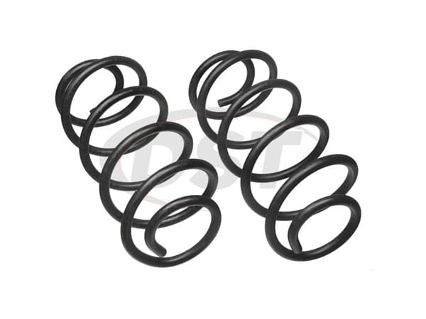 moog-81057 Rear Coil Springs - Pair - Constant Rate - RWD
