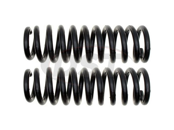 Moog-81082 Front Coil Springs - Pair